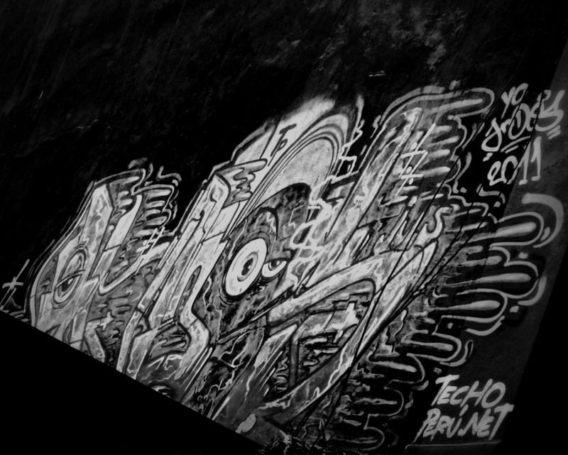 graffitti in Peru
