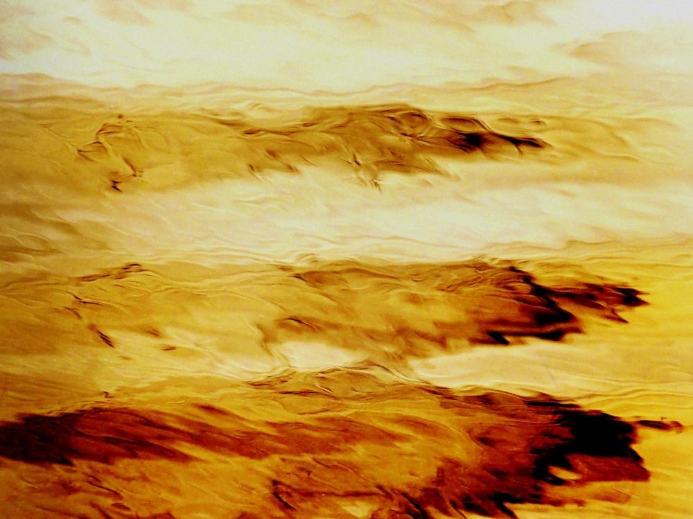 les vagues sur le rivage