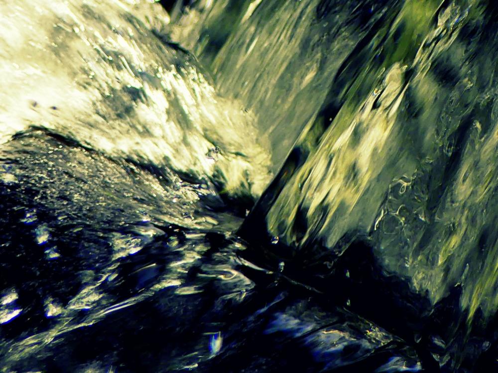 la force de l'eau
