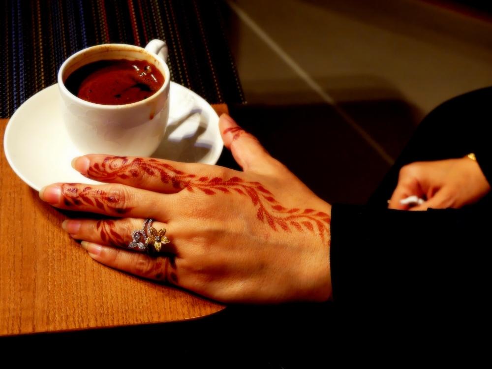 café et henné