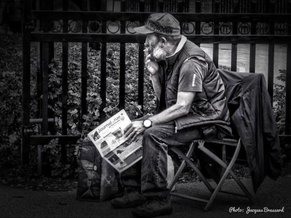 Vendeur de journaux