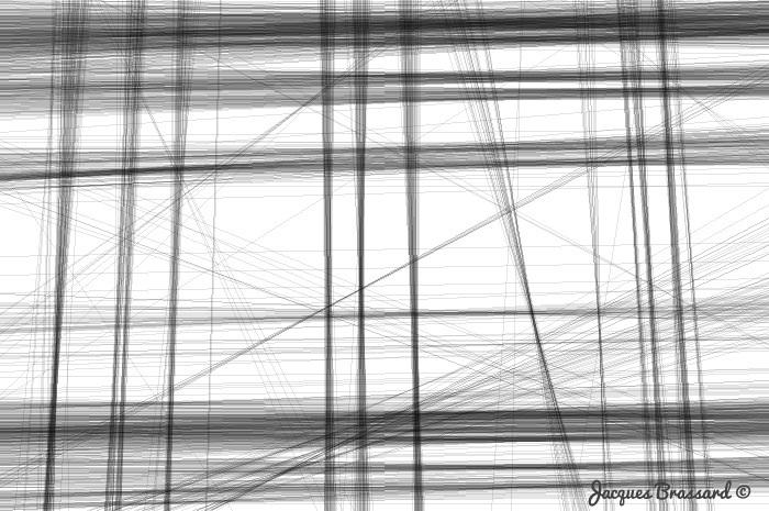 Pluie de lignes
