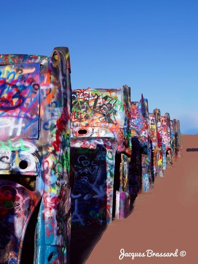 Cadillac ranch, Texas  USA