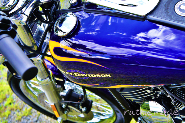 Reflections on a Motorcycle 2