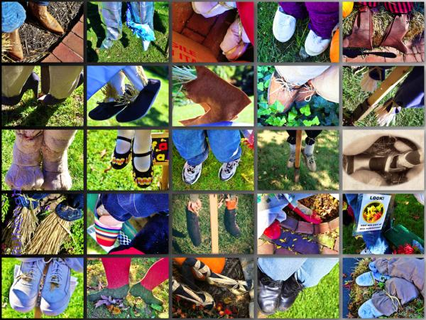 Scarecrow Feet