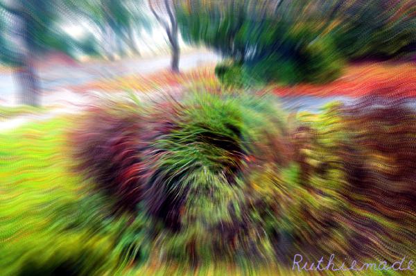 Sandy Swirling 1