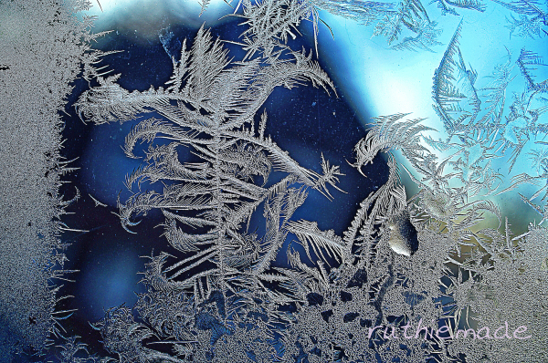 Frosty window