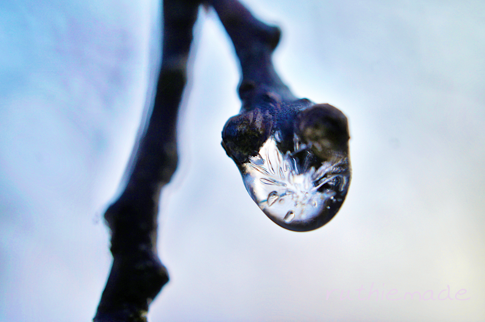 Frosty drop