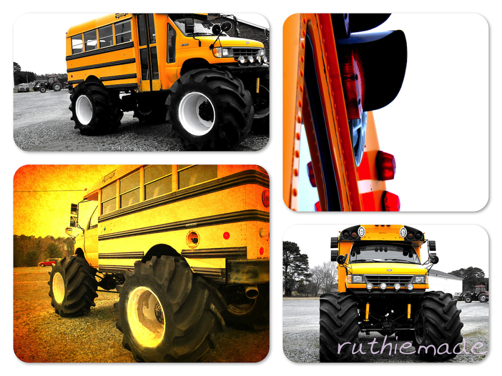 High School Bus