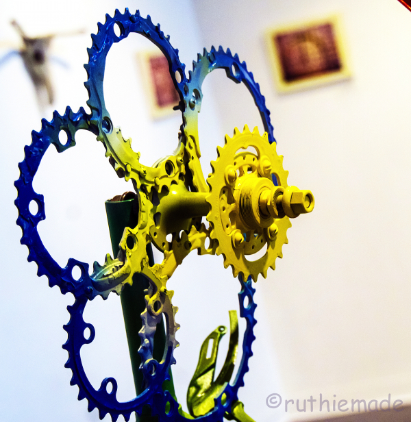Bicycle Art Flower