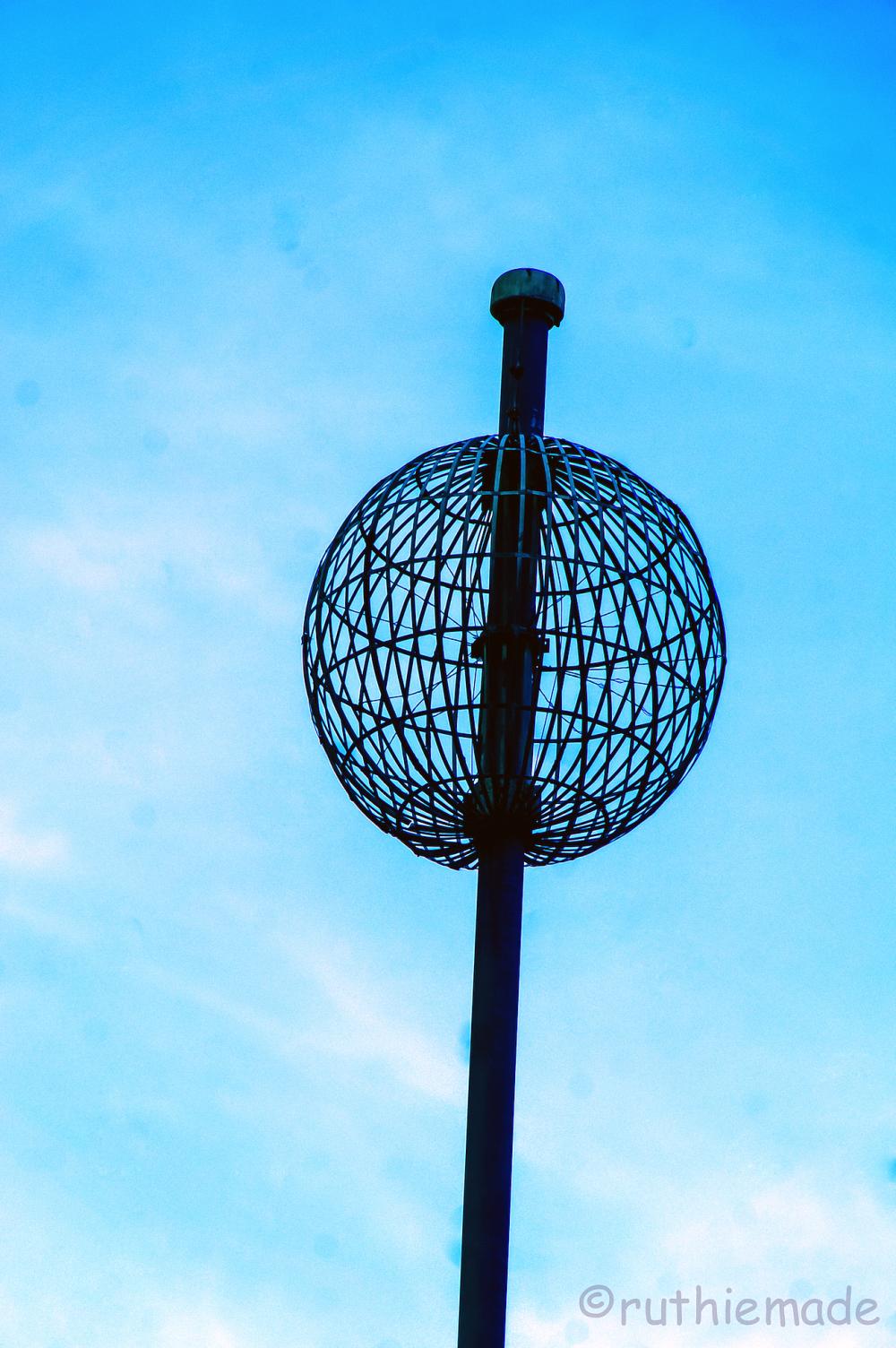 Sky Globe in NYC