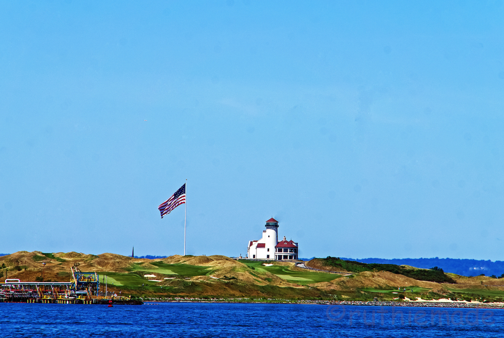 NY harbor light house