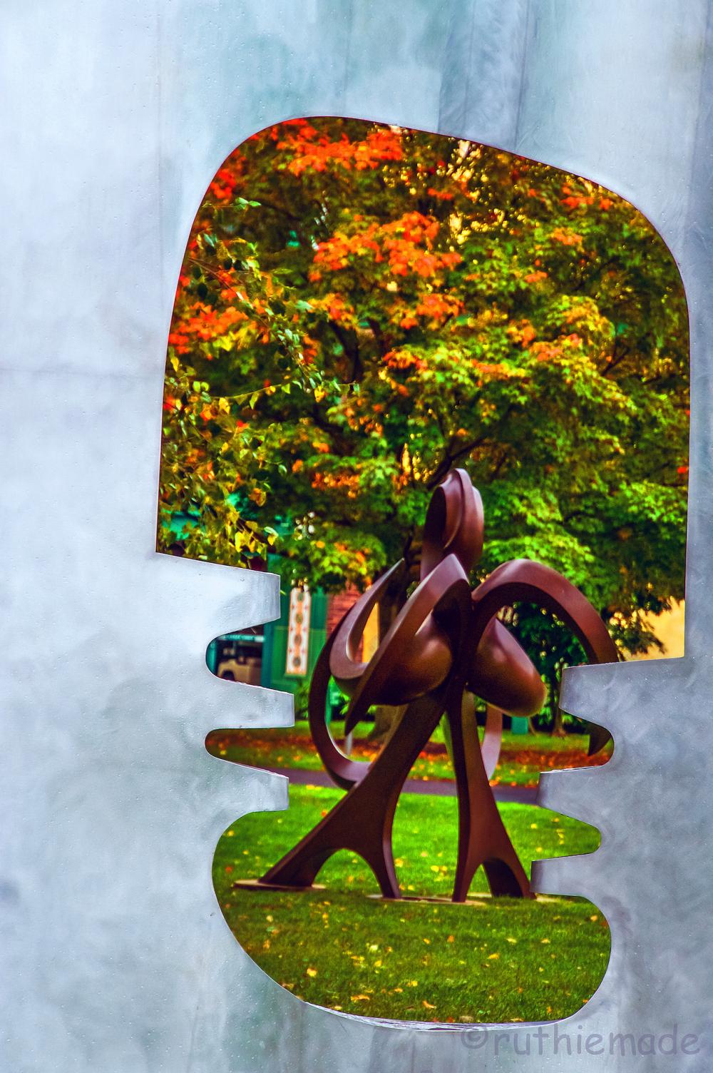 Framed Sculpture