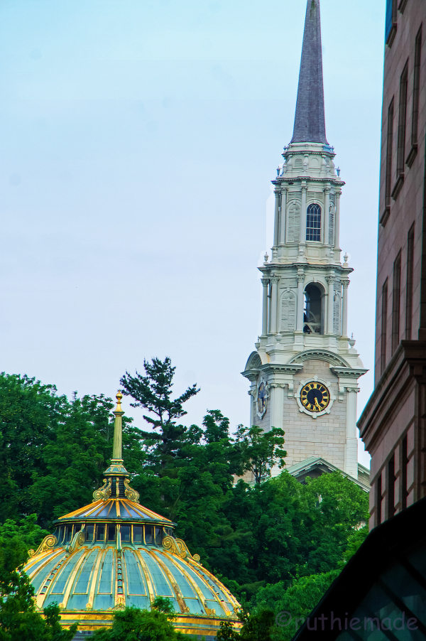 Providence steeple and dome