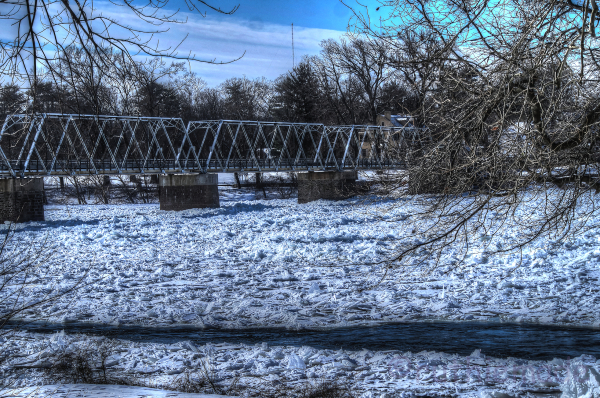 Ice Chunks in River 1