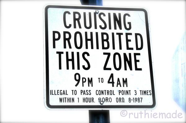 ST No Cruising