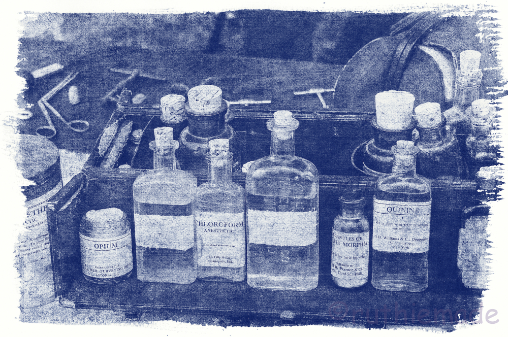 Old Time Bottled Medicine