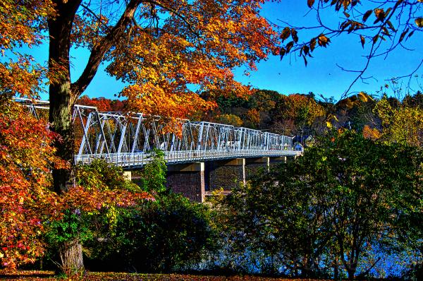 Bridge in Autumn