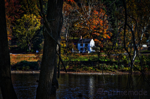 Across the River in Fall