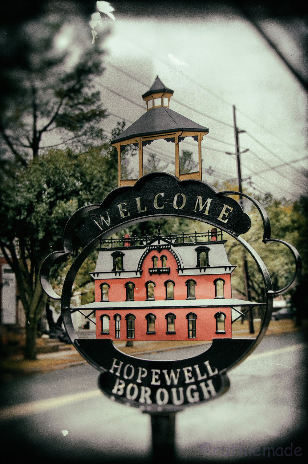 Hopewell Boro Sign