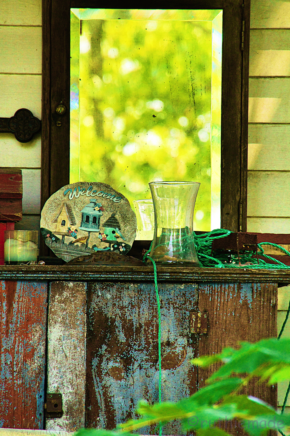 Porch Reflection