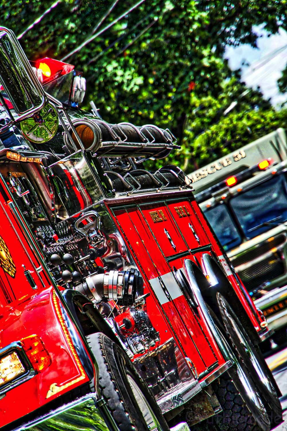 Firetruck on Parade