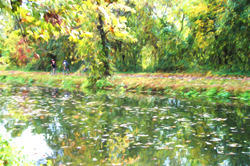 Artistic Walk Along Canal Pth