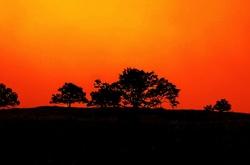 Sunset on SKyline Drive