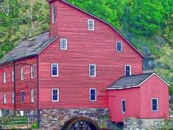 Artsy Clinton Mill