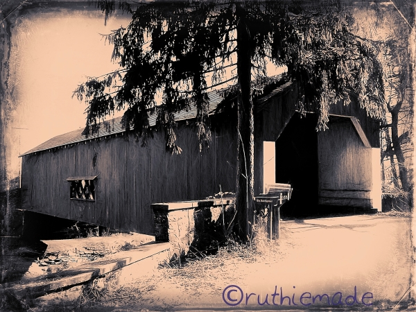 Old Time Covered Bridge