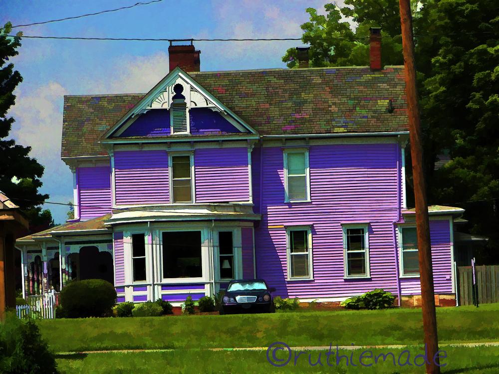 ST Purple House