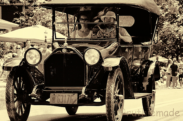 Antique Car in Parade