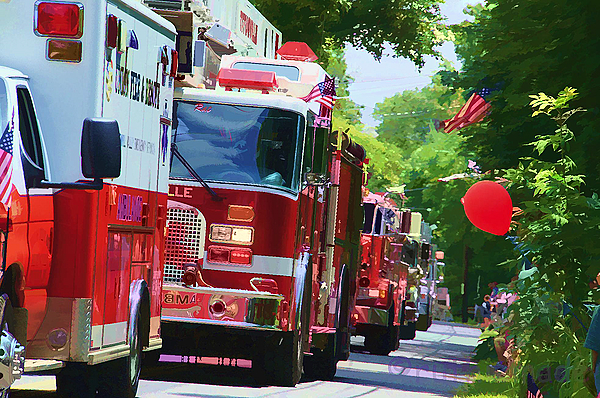 Fire Trucks on Parade