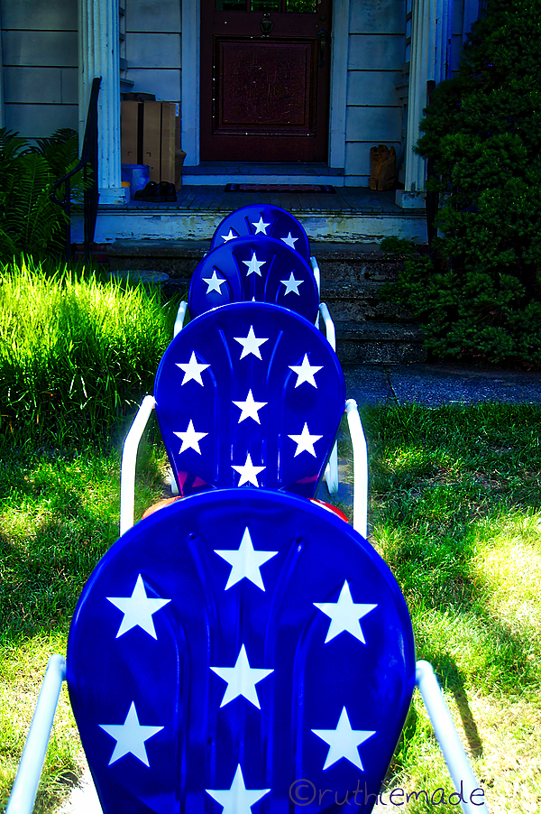 Patriotic Chairs