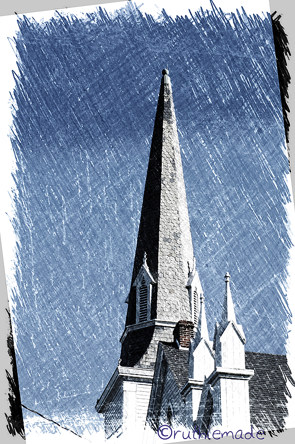 Sketched Church SPire