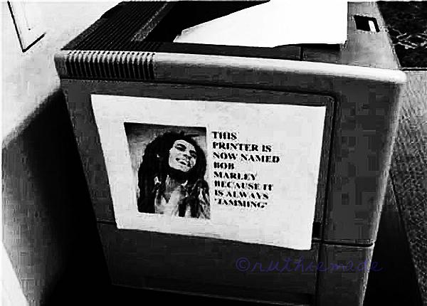 ST Bob Marley Copy Machine