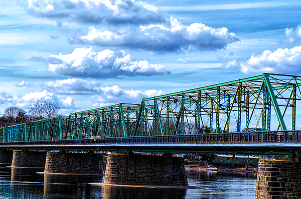 Bridge in Lambertville NJ