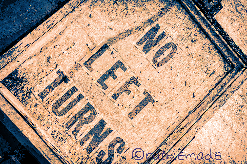 ANtique Street Sign