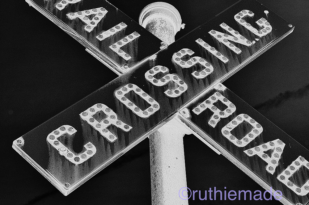 Life in B&W RR Crossing