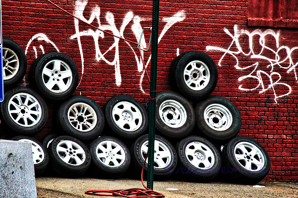 Tires in the CIty