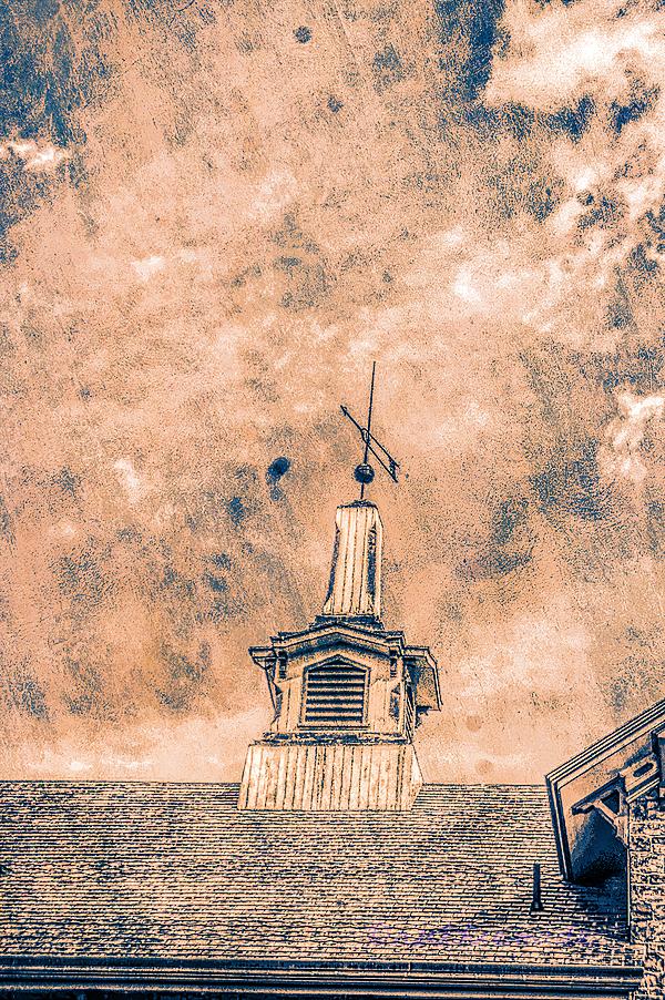 Old Lambertville Steeple