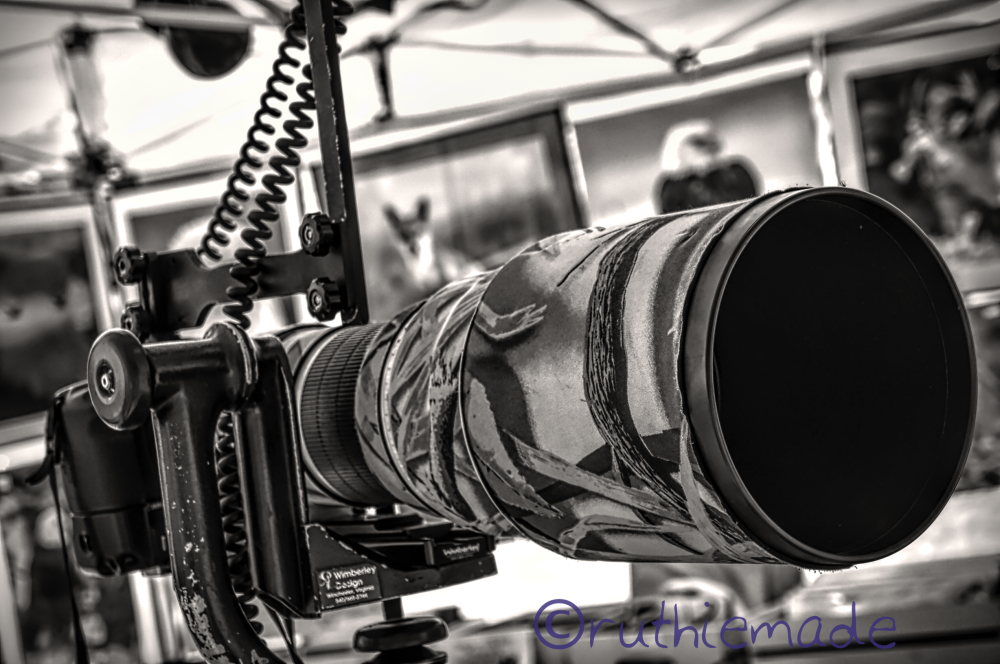 Life in B&W Camera Lens