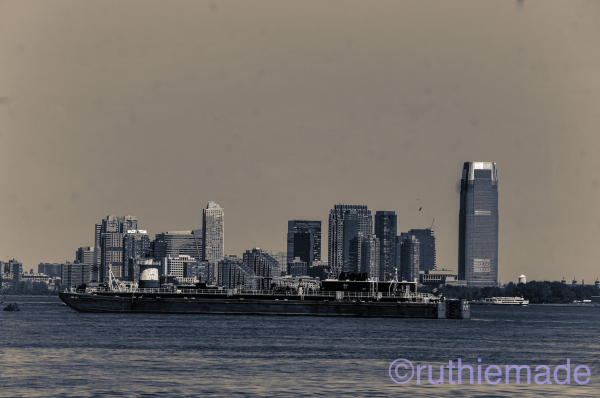 NYC Barge