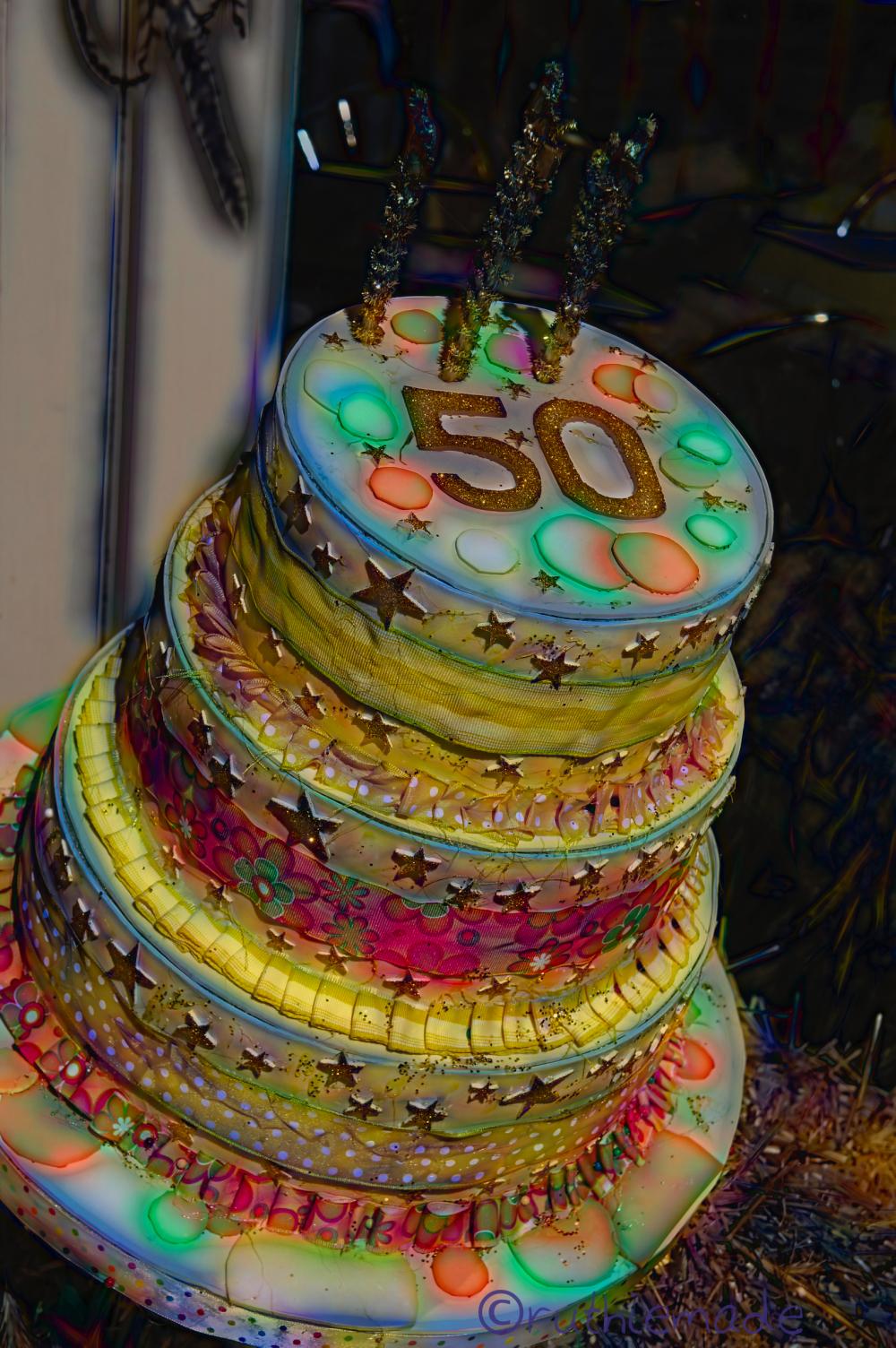 Circle of LIfe Cake Art