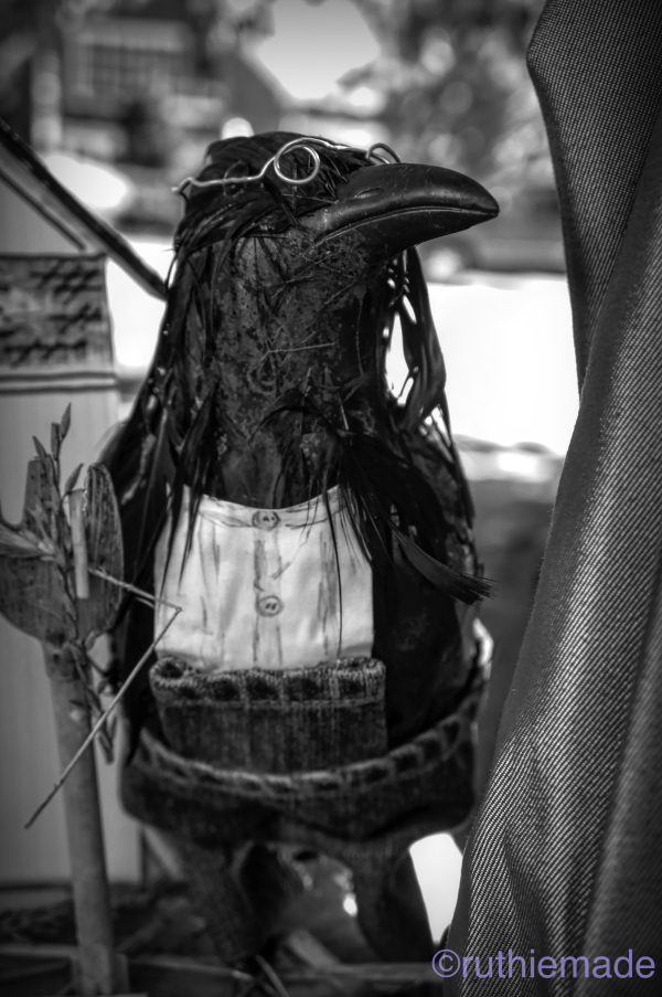 Life in B&W scareCROW