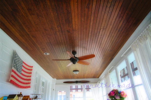 Home Sweet Home Porch Ceiling