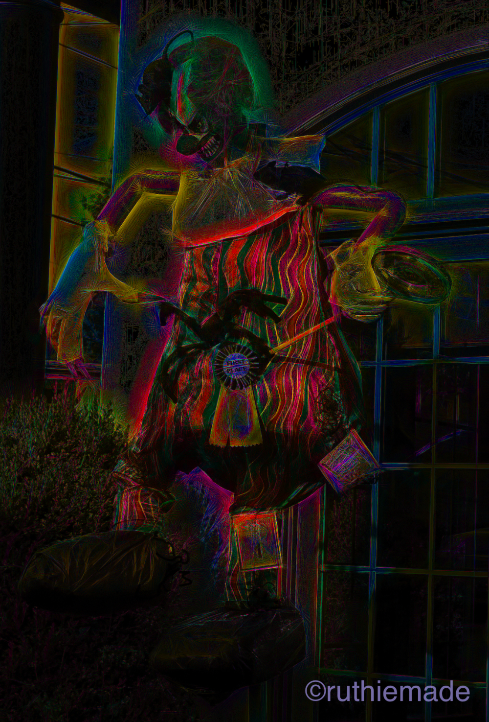 Scarecrow Scary Clown