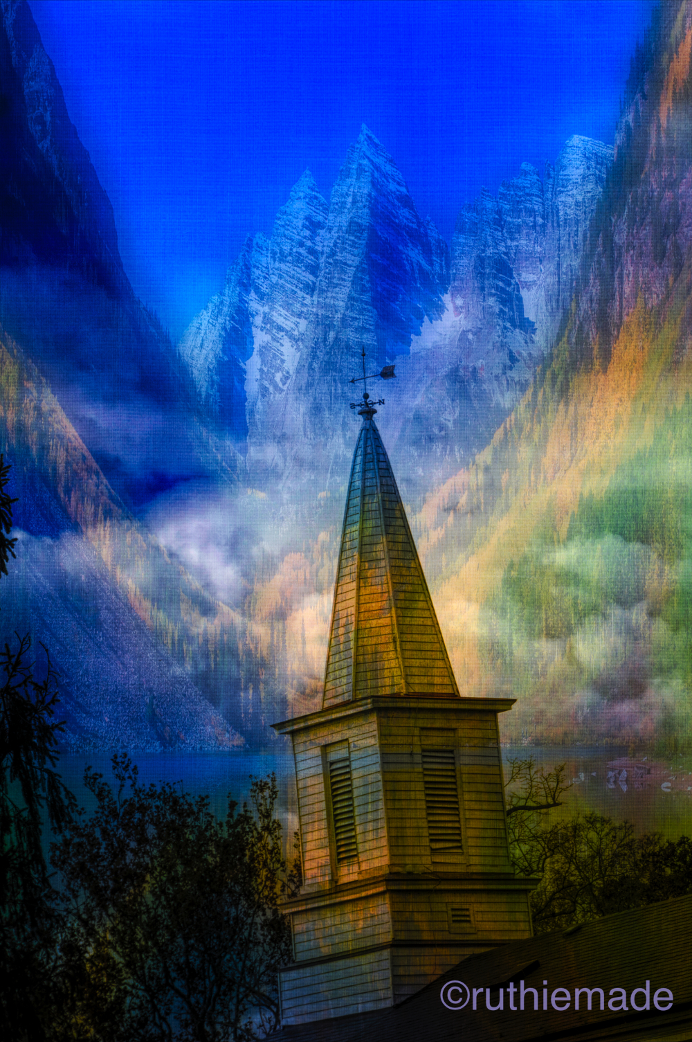 Inspired Heavenly Vision