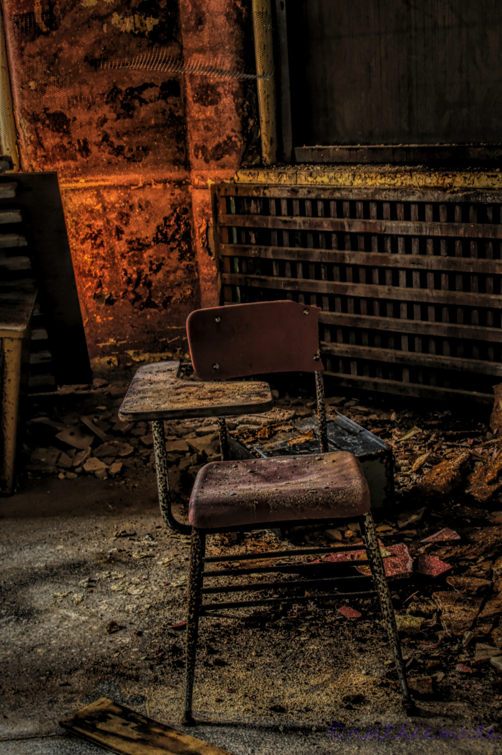 Abandoned Asylum Chair