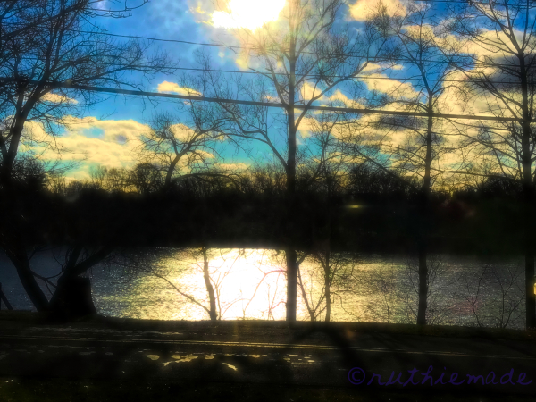 Light on River